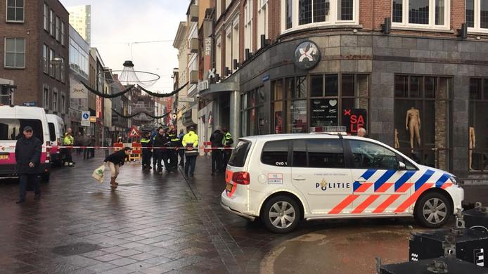 Een deel van de binnenstad van Eindhoven zit zonder stroom