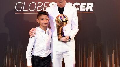 Cristiano Ronaldo voor de zesde keer Speler van het Jaar in Dubai
