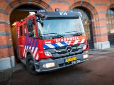 Auto vat vlam in zowel Hilversum als Blaricum