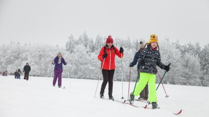 Acht skicentra open in provincies Luik en Luxemburg