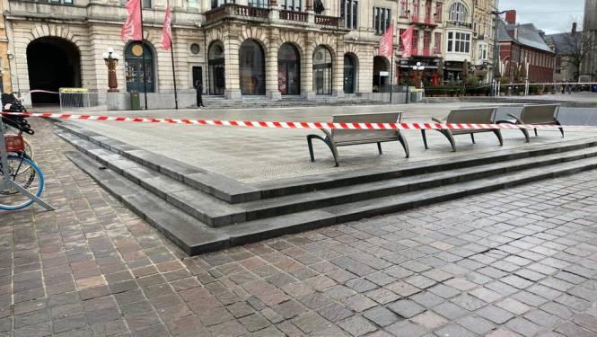 Sint-Baafsplein afgesloten wegens gladheid: ook op andere plaatsen in Gent gevaarlijke ijsplekken