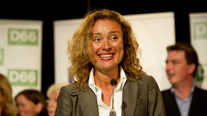 D66-kandidaat en voormalig COC-voorzitter Vera Bergkamp