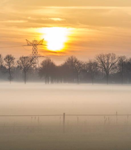Code geel vanwege dichte mist in groot deel van het land