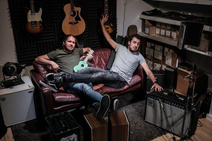 Kevin Raayman (links) en Koen Büttner hebben hoge verwachtingen van hun nieuwe single.