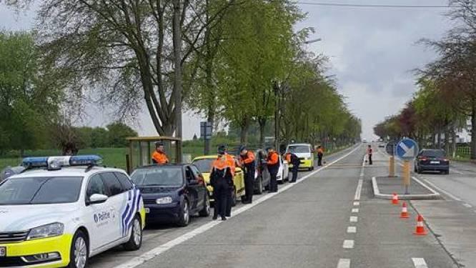 3 rijbewijzen ingetrokken, 3 chauffeurs zonder rijbewijs achter het stuur en 5 overtredingen op naleven avondklok