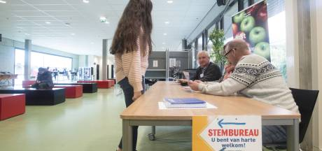 Weinig leerlingen in stemhokjes op ROC in Enschede
