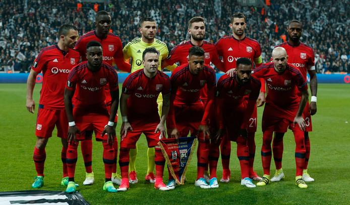De elf van Olympique Lyon.