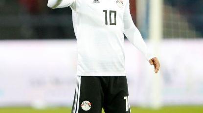 """Salah sluit zaterdag bij Egyptische selectie aan: """"We hebben er vertrouwen in dat hij fit geraakt voor WK-opener tegen Uruguay"""""""