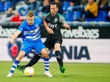 Bruns strijdt zonder medelijden tegen werkgever Vitesse