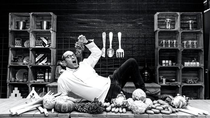 Frank van Gils (Frank van Gils Catering) is een van de Madese ondernemers die Patricia fotografeerde.
