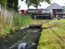 Rioolwater belandt in slootjes in Elburg