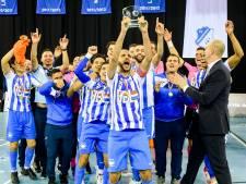 Zaalvoetballers FC Eindhoven opnieuw in bekerfinale na ruime zege op aartsrivaal