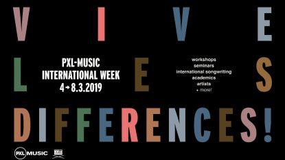PXL Music organiseert internationale week 'Vive les différences'