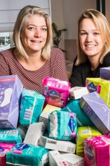 Docent van Carmel College Salland in Raalte in actie tegen menstruatiearmoede