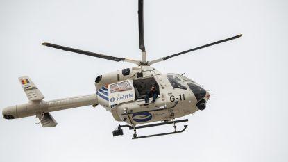 Klopjacht met politiehelikopter na inbraak in Hofstade: Een dader gevat