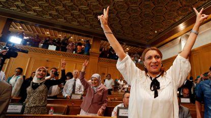 Souad Abderrahim (53) eerste vrouwelijke burgemeester van Tunesische hoofdstad