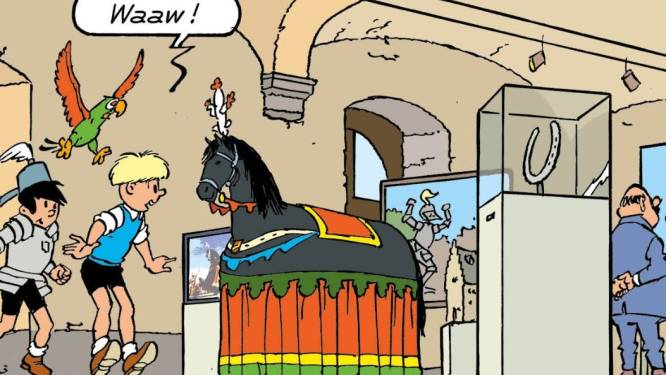 Ros Beiaard krijgt hoofdrol in nieuw avontuur van Jommeke: stripverhaal moet tegen juni klaar zijn