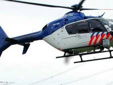 Politiehelikopter boven Oudenbosch vanwege vermoeden van inbraak