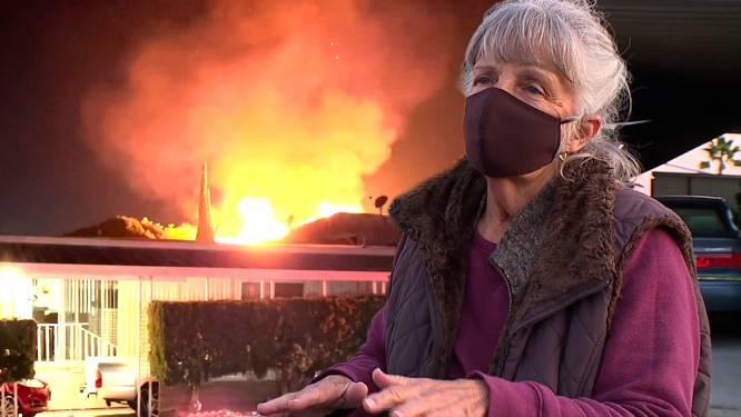"""""""Ik deed wat eender wie zou hebben gedaan"""": oma Marty (76) kruipt brandend huis binnen en redt leven van buurvrouw"""