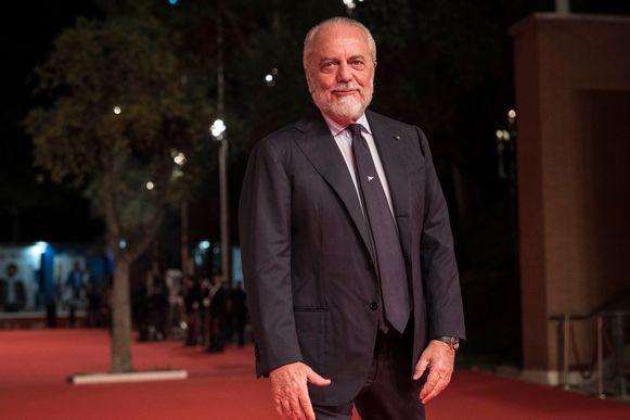 De Laurentiis op de rode loper van het Romeinse filmfestival vorige week.