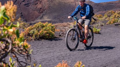 Vulkanen bedwingen met de e-bike