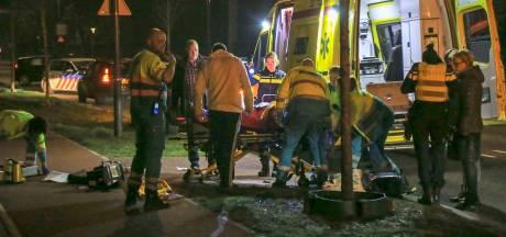 Fietser ernstig gewond na valpartij in Helmond: traumahelikopter ter plekke