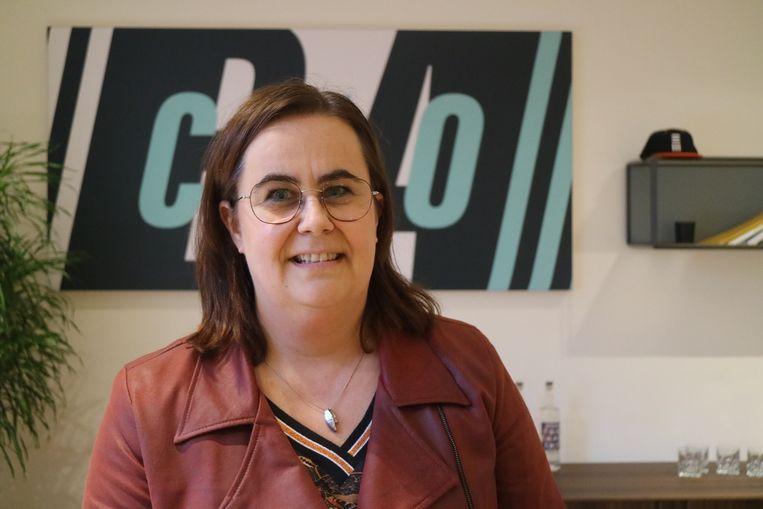 Anja Cappelle, CEO van The Reference, maakte het Gentse agentschap weer gezond nadat de internetbubbel gebarsten was.