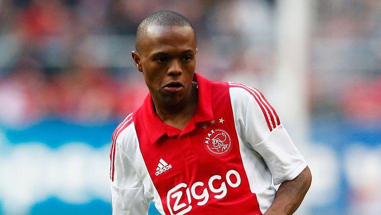 Thulani Serero in Ajax-shirt. Beeld getty