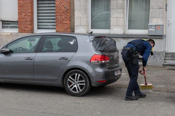 Vorige week ontplofte een granaat aan de woning van de familie B. in de Ten Eeckhovenlei.