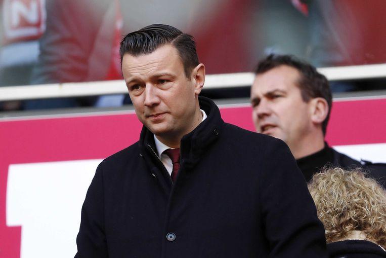 Ajax' commercieel directeur Menno Geelen: 'We hebben afgelopen seizoen laten zien dat we met een veel kleiner budget een eind kunnen komen.' Beeld Maurice van Steen