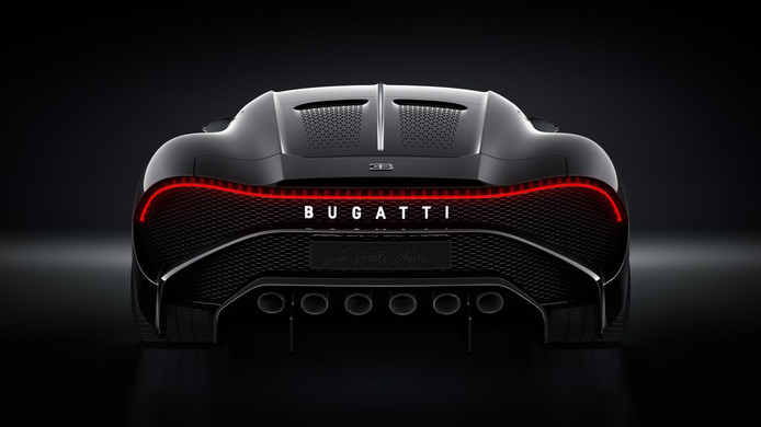 De exclusieve Bugatti La Voiture Noire is nu de duurste auto ter we