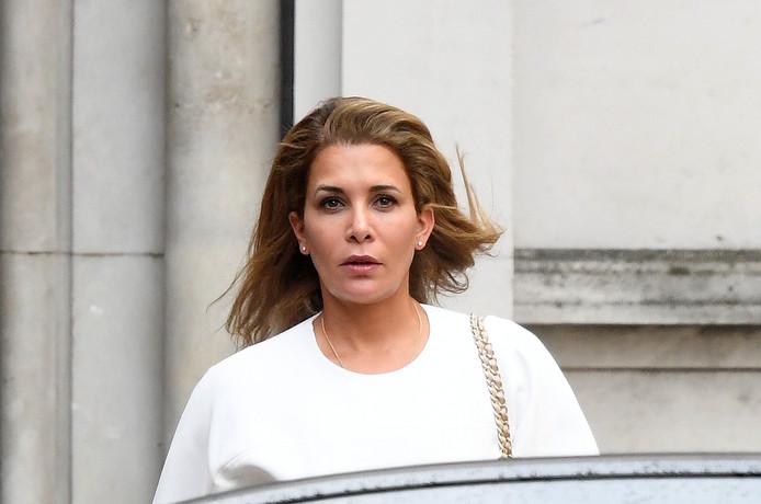 Haya verscheen vandaag bij het gerechtshof in Londen.