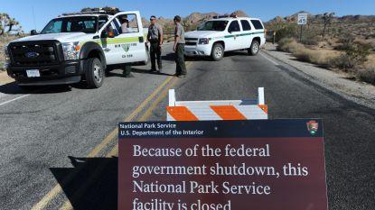 Amerikaanse shutdown verandert nationale parken in het 'Wilde Westen'