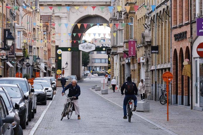Stad Ieper doet al heel wat inspanningen voor de fietsers, maar Fietsersbond vraagt nog een tandje bij te steken.