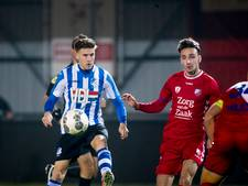 Lieder schiet FC Eindhoven na rust naar winst op Jong FC Utrecht
