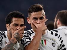 Juventus op sloffen naar laatste acht