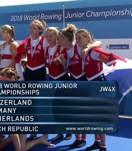 Lisa Bruijnincx van roeivereniging Gouda wint brons tijdens WK junioren