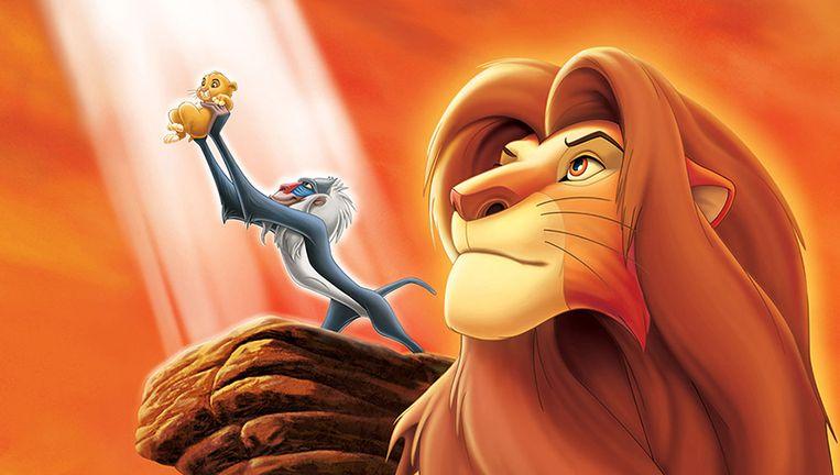 Scene uit de eerste  Lion King. Beeld Disney