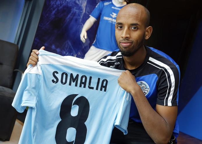 Abdulsamed Abdullahi van FC Den Bosch.