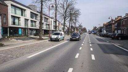 Gemeente veegt straten schoon