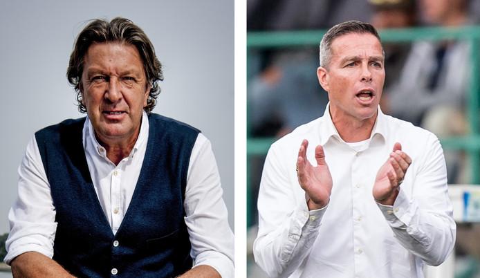 Ben Wijnstekers en Gérard de Nooijer zijn vol lof over Feyenoorder Bart Nieuwkoop.