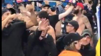 FT buitenland. Lyon bestraft fan die Hitlergroet bracht met levenslang stadionverbod