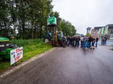 Boeren demonstreren opnieuw, nu in  Zwolle en omgeving