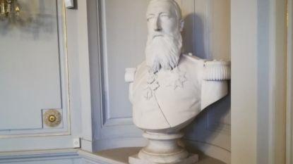 Borstbeeld van Leopold II in Antwerpse Bernarduscentrum krijgt infobord