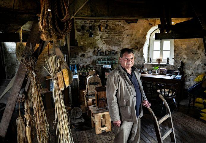 Harrie Smits, de molenaar in Vlierden.