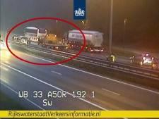 Rijbaan op A50 weer vrij na ongeluk, file bij Apeldoorn lost op