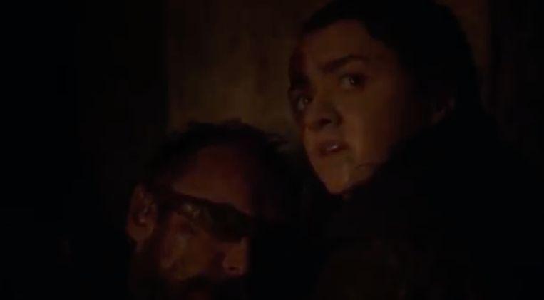 Arya spot Melissandre.