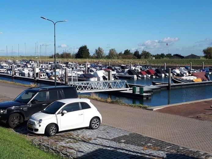 De jachthaven in Stavenisse.