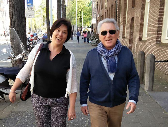 Johny Voners en dochter Els Hoebrechts