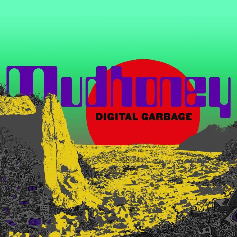 Albumcover van de cd Digital Garbage, Mudhoney.  Beeld Mudhoney